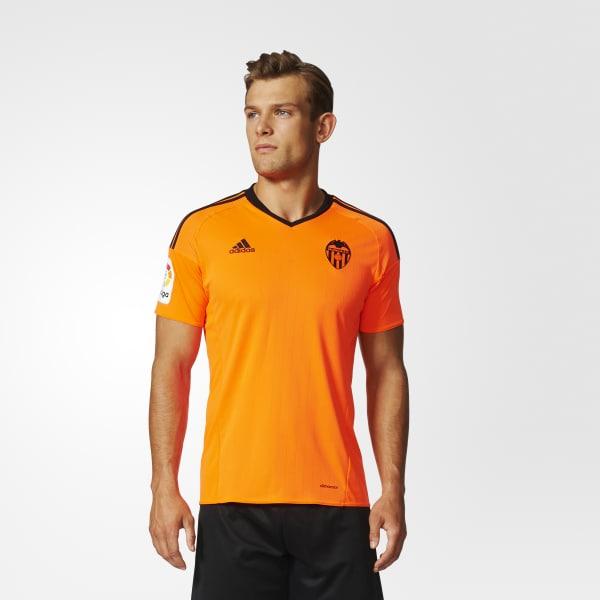 Camiseta tercera equipación Valencia CF Réplica Naranja BG9545