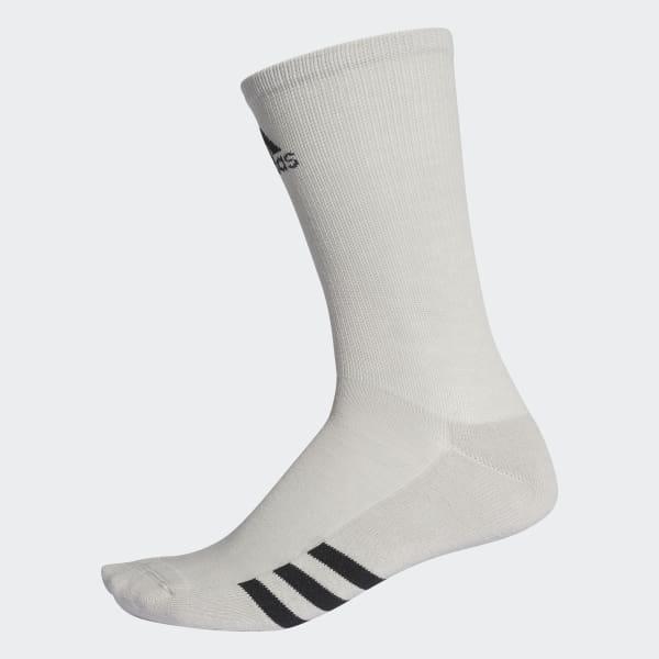 Golf Crew Socks 3 Pairs Grey CF8427