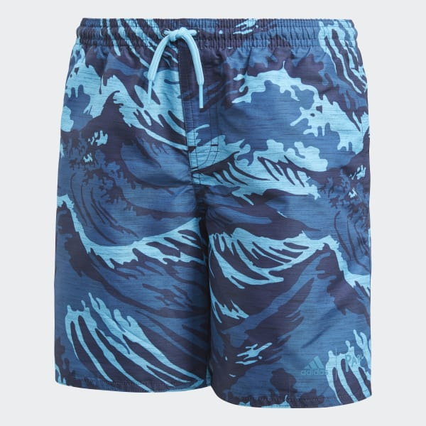 Parley Swim Shorts Blue CV5209