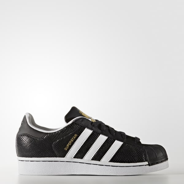 Superstar Reptile Shoes Black S76995