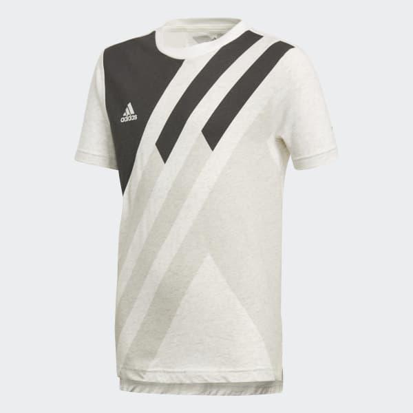 X T-shirt wit DJ1266