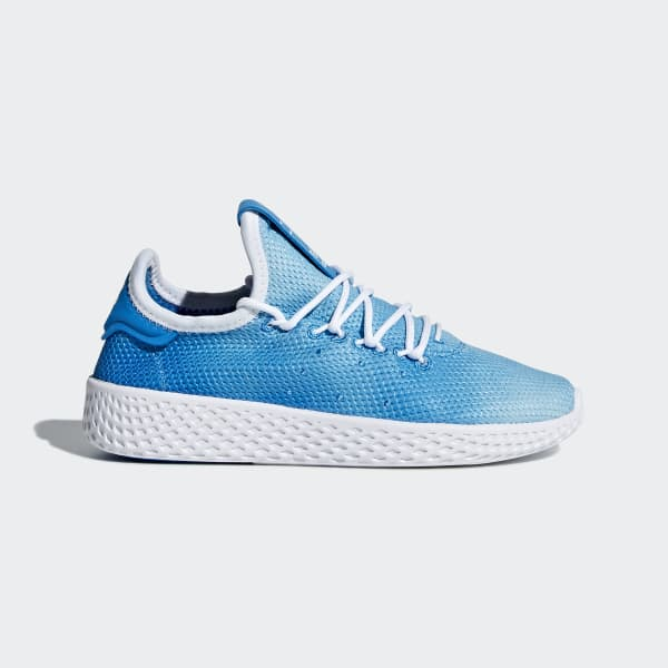Zapatilla Pharrell Williams Tennis Hu Azul BB6837