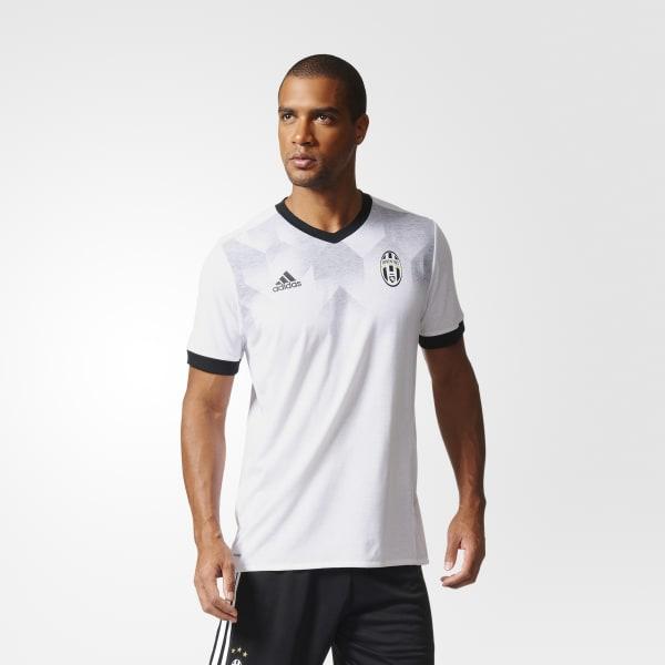 Juventus Turin Home Pre-Match Shirt weiß BP9188