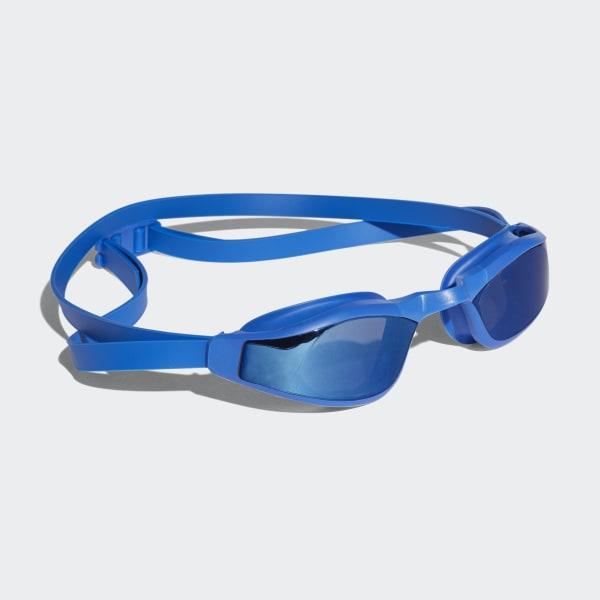 persistar race mirrored swim goggle bleu BR1026