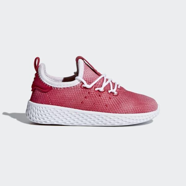 Zapatilla Pharrell Williams Tennis Hu Rojo BB6829