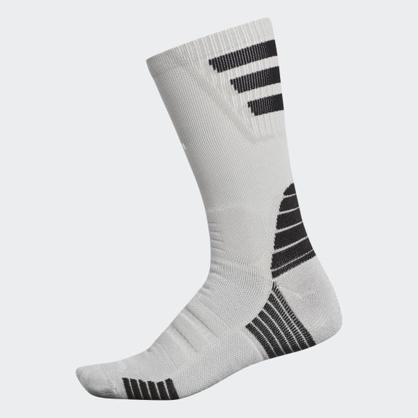 Alphaskin Maximum Cushion Crew Socks Grey CK6302