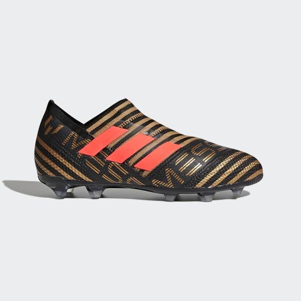 Scarpe da calcio Nemeziz Messi 17+ 360 Agility Firm Ground Nero CP9143