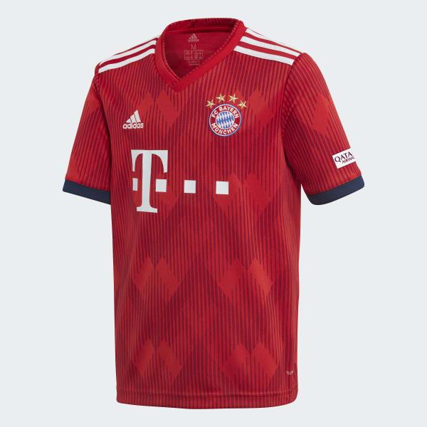 Maglia Home FC Bayern München Rosso CF5429