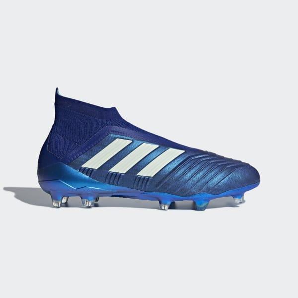 Scarpe da calcio Predator 18+ Firm Ground Blu CM7394