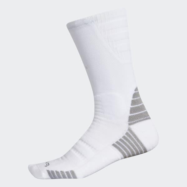 Speed of Light Alphaskin Maximum Cushion Crew Socks White CK2305