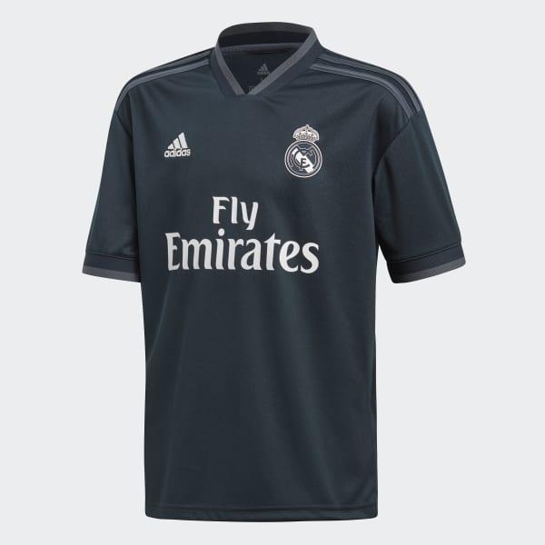 Real Madrid Away Replica Jersey Grey CG0570