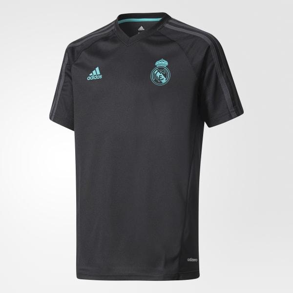 Maillot d'entraînement Real Madrid Authentic noir BQ7922