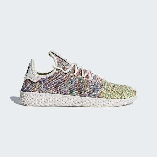 Pharrell Williams Tennis Hu Primeknit Shoes Green CQ2631