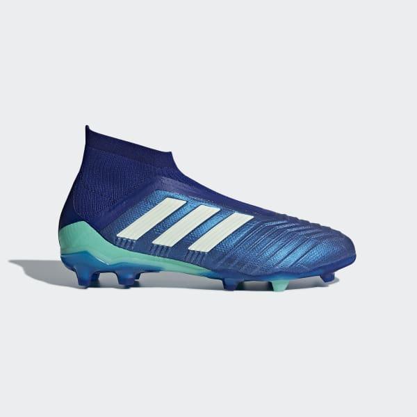 Predator 18+ Firm Ground Boots Blue CP8984