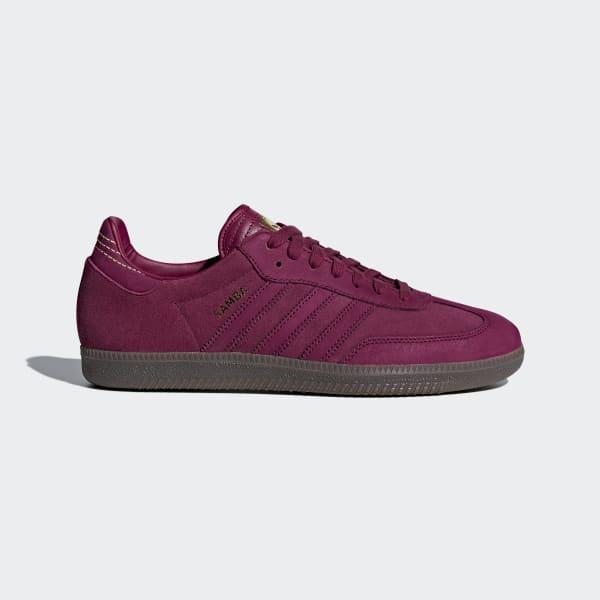 Samba FB sko Rød CQ2091