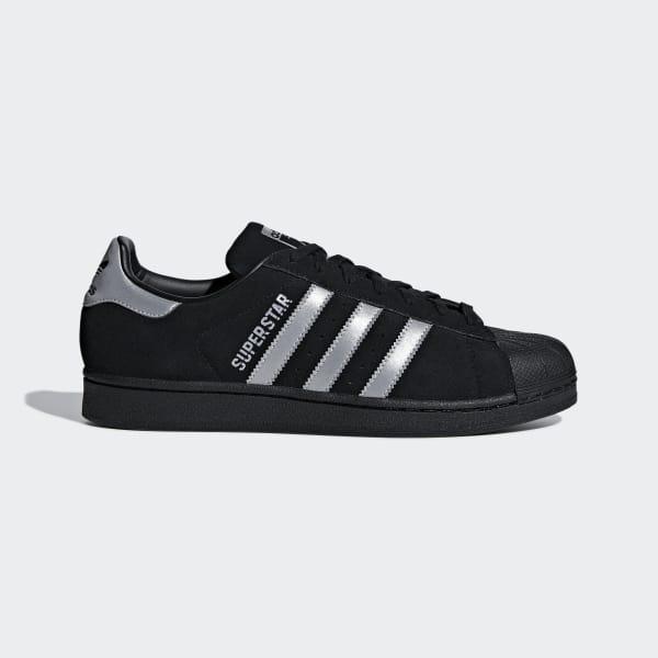 Superstar Schoenen zwart B41987