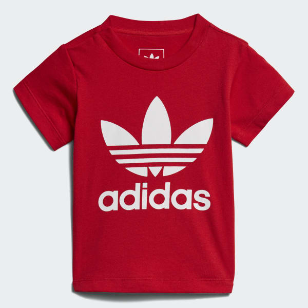Camiseta Trefoil Vermelho CE4314