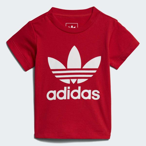 Trefoil T-Shirt rot CE4314