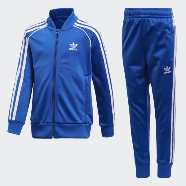 Trefoil SST Track Suit Blue CD8442