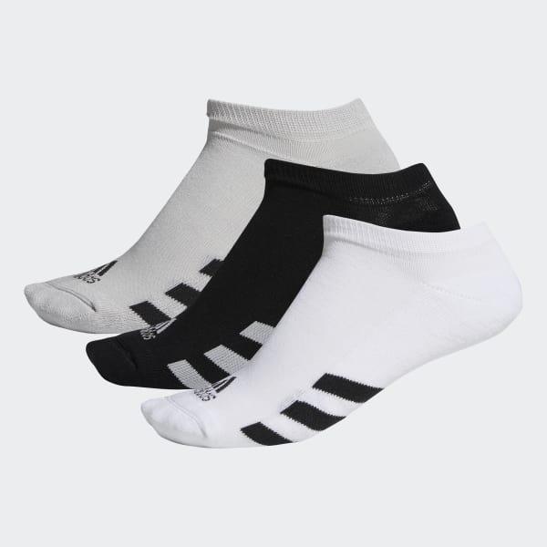 No-Show Socks 3 Pairs Black DM6092