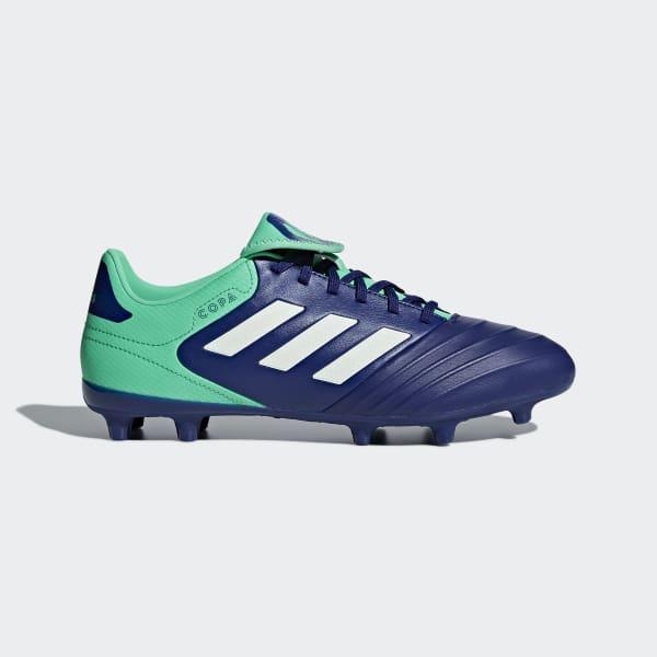 Zapatos de Fútbol Copa 18.3 Terreno Firme Azul CP8959