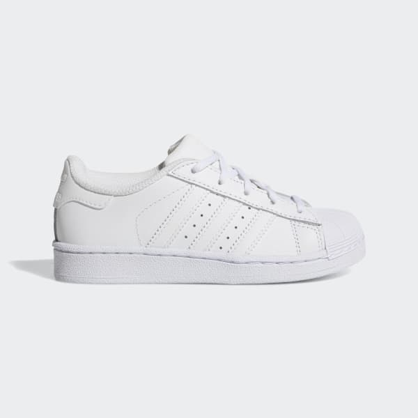 Tenis Superstar Foundation Blanco BA8380