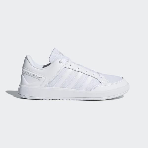 Cloudfoam All Court Shoes Vit DB1470
