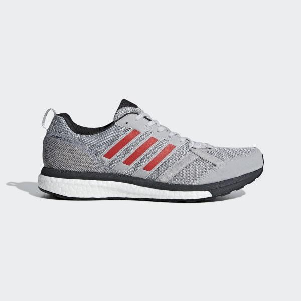 Adizero Tempo 9 Shoes Grey BB6651