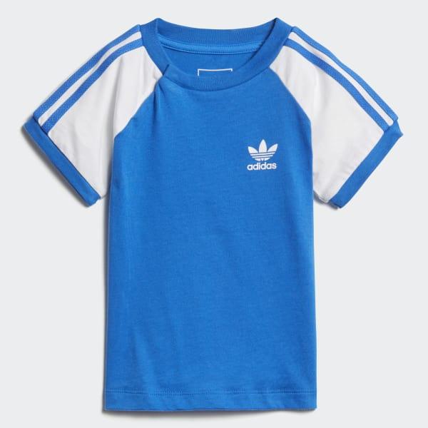 California T-Shirt blau DH2463