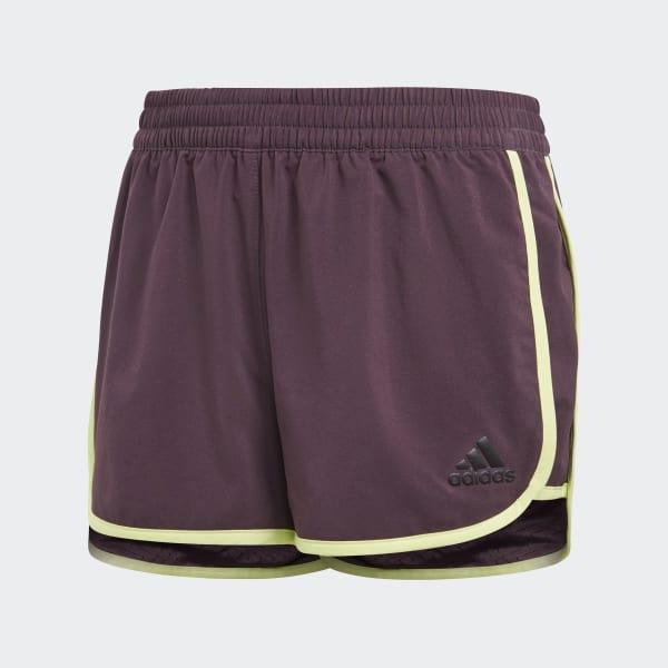 Shorts Training Marathon Rojo CF7184