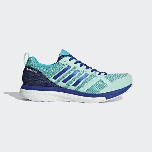 Adizero Tempo 9 Shoes Turquoise BB6654