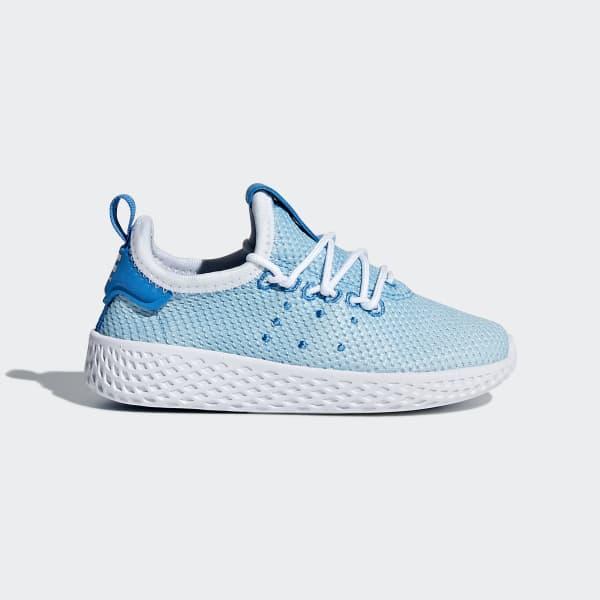Pharrell Williams Tennis Hu Schoenen blauw BB6828