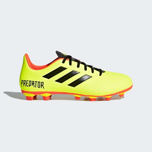 Zapatos de Fútbol Predator 18.4 Terreno Flexible Amarillo DB2005