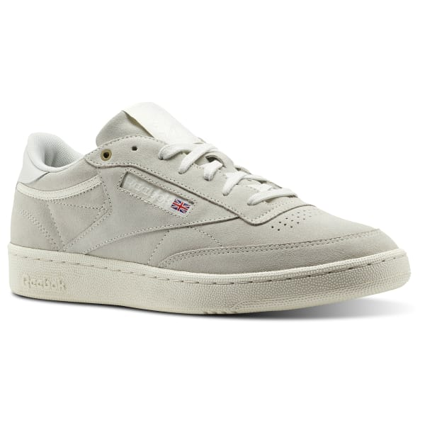 Reebok Club C 85 Montana Cans collaboration Pebble / Chalk CM9296