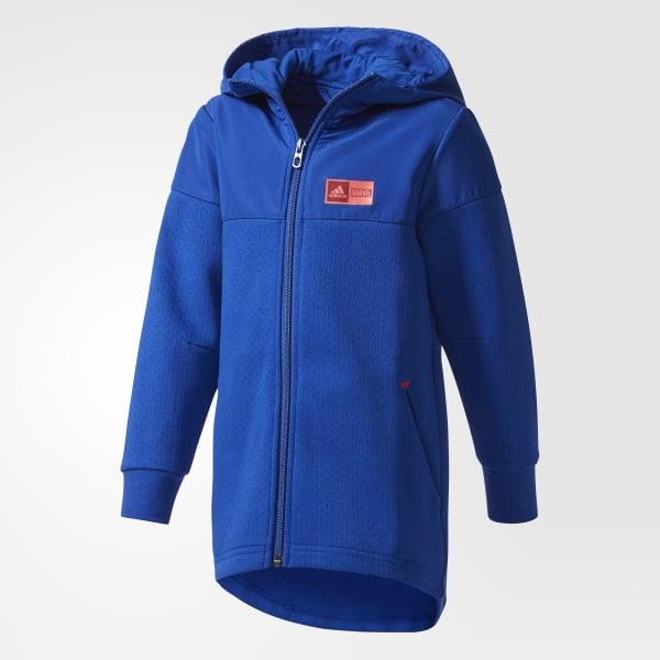Marvel Spider-Man Hooded Long Jacket Blue CF1445