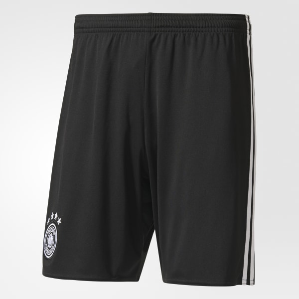 UEFA EURO 2016 Germany Home Replica Player Shorts Black AA0143
