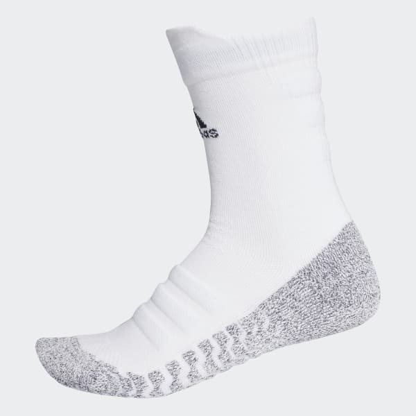 Alphaskin Traxion Lichtgewicht Gevoerde Sokken wit CG2674