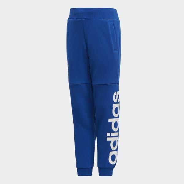 Pantaloni da allenamento Linear Blu CF6624