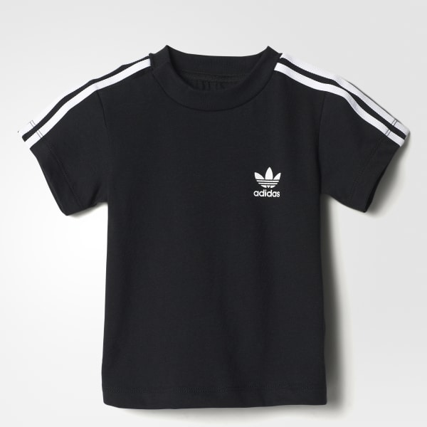 T-shirt 3-Stripes Trefoil Nero BQ4057