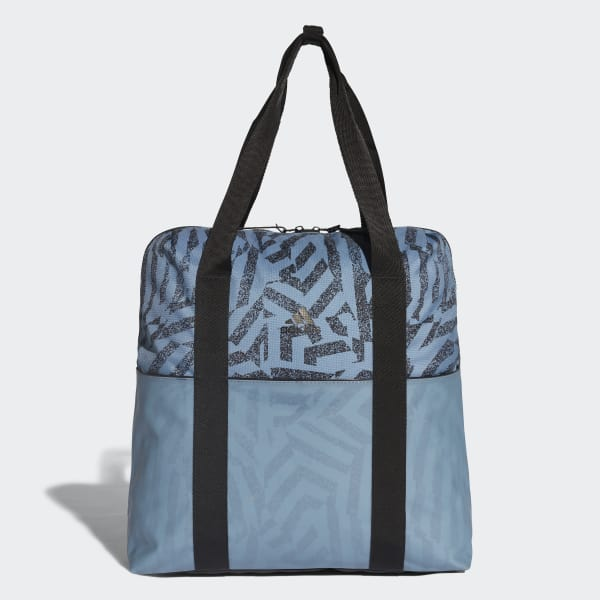 ID Convertible Graphic Tote Bag Blue CV4247