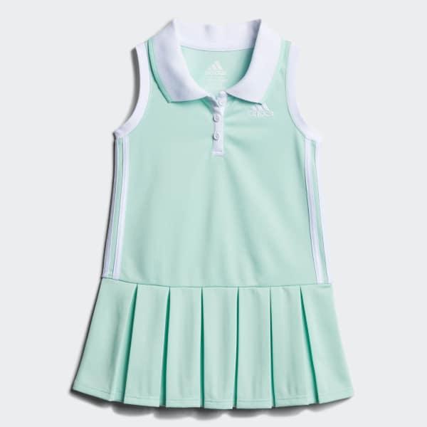 Twirl Polo Dress Green CJ2987