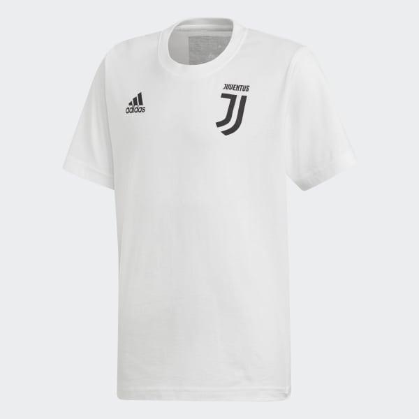 Juventus Turin Graphic T-Shirt White FI2375