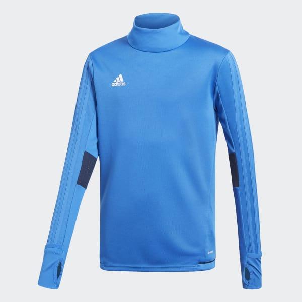 Tiro17 Trainingsshirt blauw BQ2755