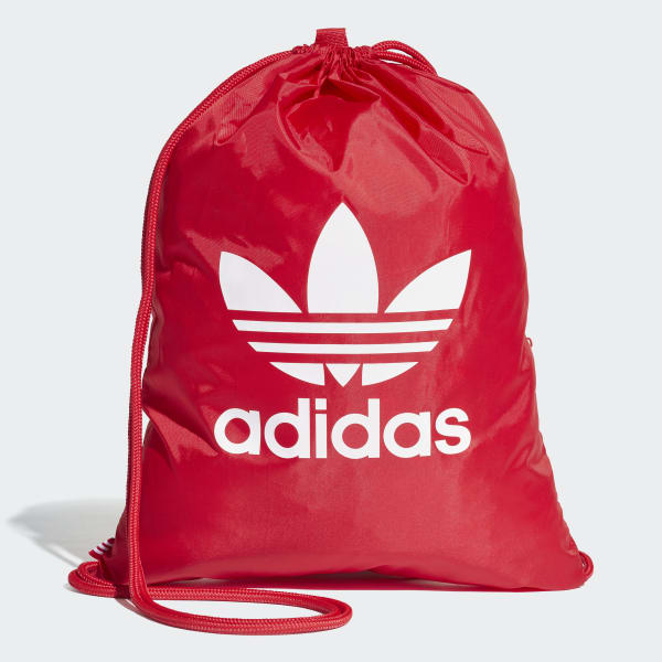 Trefoil Gym Sack Red DQ3160