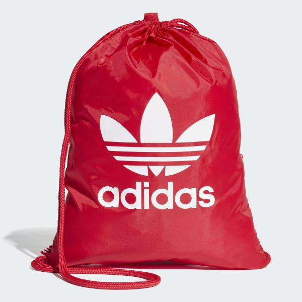 Trefoil Gym Sack rouge DQ3160