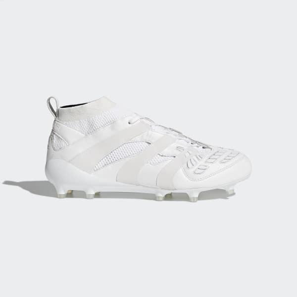 Chaussure David Beckham Accelerator Terrain souple blanc AP9868
