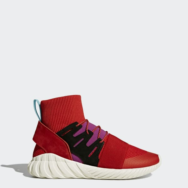 Chaussure Tubular Doom Winter rouge BY9397