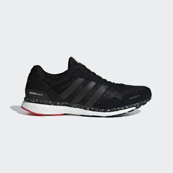 Adizero Adios 3-schoenen rood CM8356