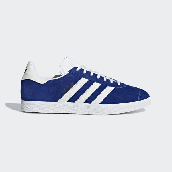 Chaussure Gazelle bleu B41648