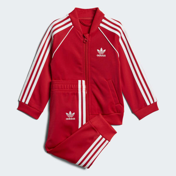 SST Track Suit Red CE1979